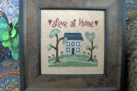 Love At Home cross stitch chart From The Heart  - $4.00