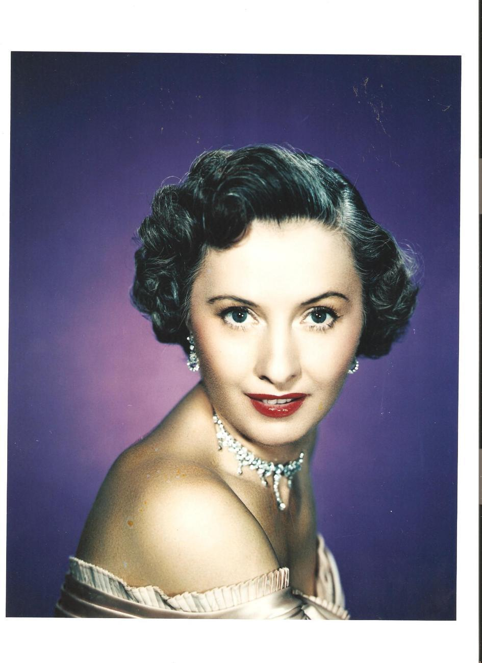 Barbara Stanwyck 8x10 Color Photo