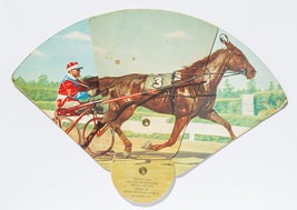 Horse Racing Theme, portable fan with advertisi... - $12.50