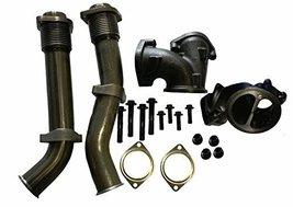 Diesel Bellowed Up Pipe Kit for Ford 99-03 7.3L Powerstroke Turbo w/ Har... - $134.95