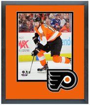 """Sean Couturier 2013-14 Philadelphia Flyers-11""""x14"""" Team Logo Matte/Frame... - $43.55"""