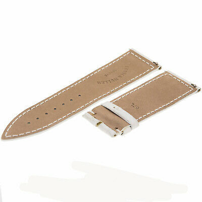 Franck Muller Geneve 07L Leather White 24 - 22 mm Watch Band