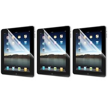 3X Crystal Clear Screen Protector Anti Glare Guard Shield For Apple iPad 1 1st - $12.99