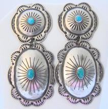 NAVAHO STERLING EARRINGS - $45.00