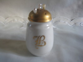 Gorgeous Hatpin Holder Gilt letter B - $11.00