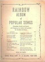Rainbow Album of Popular Songs Book Two - $9.00