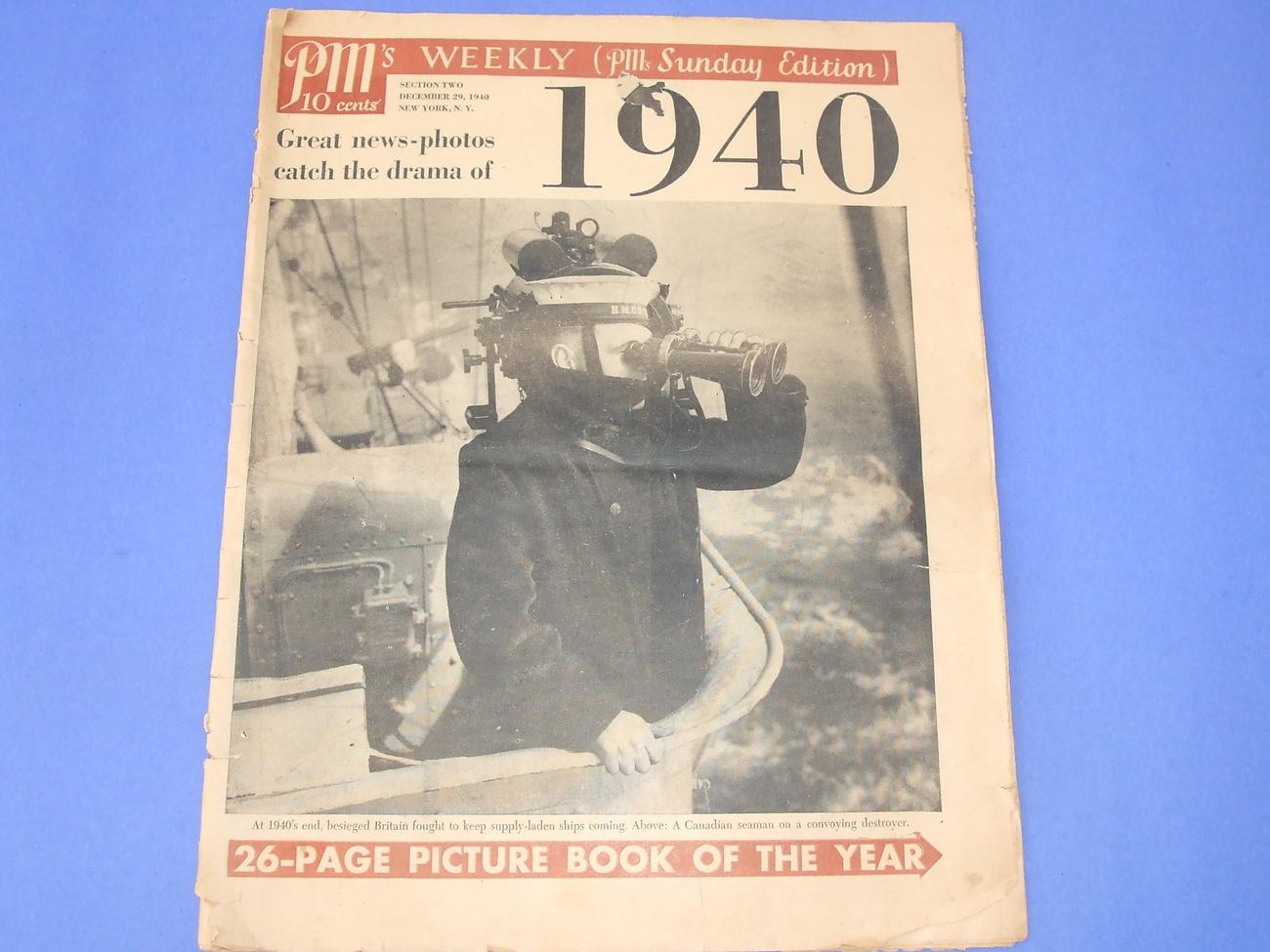 1940 weekly