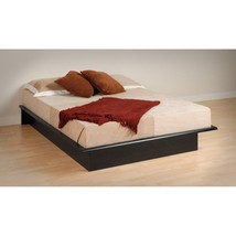 Prepac Queen Platform Bed -, Black, Queen - $228.64