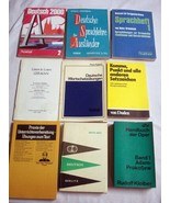 8 German Vocabulary Books In German Deutsch 2000, Deutsch Berlitz, Sprachhefft 1 - $49.99