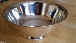 F B Rogers Silver Company 1883 Paul Revere Silverplate Footed Bowl - $21.19