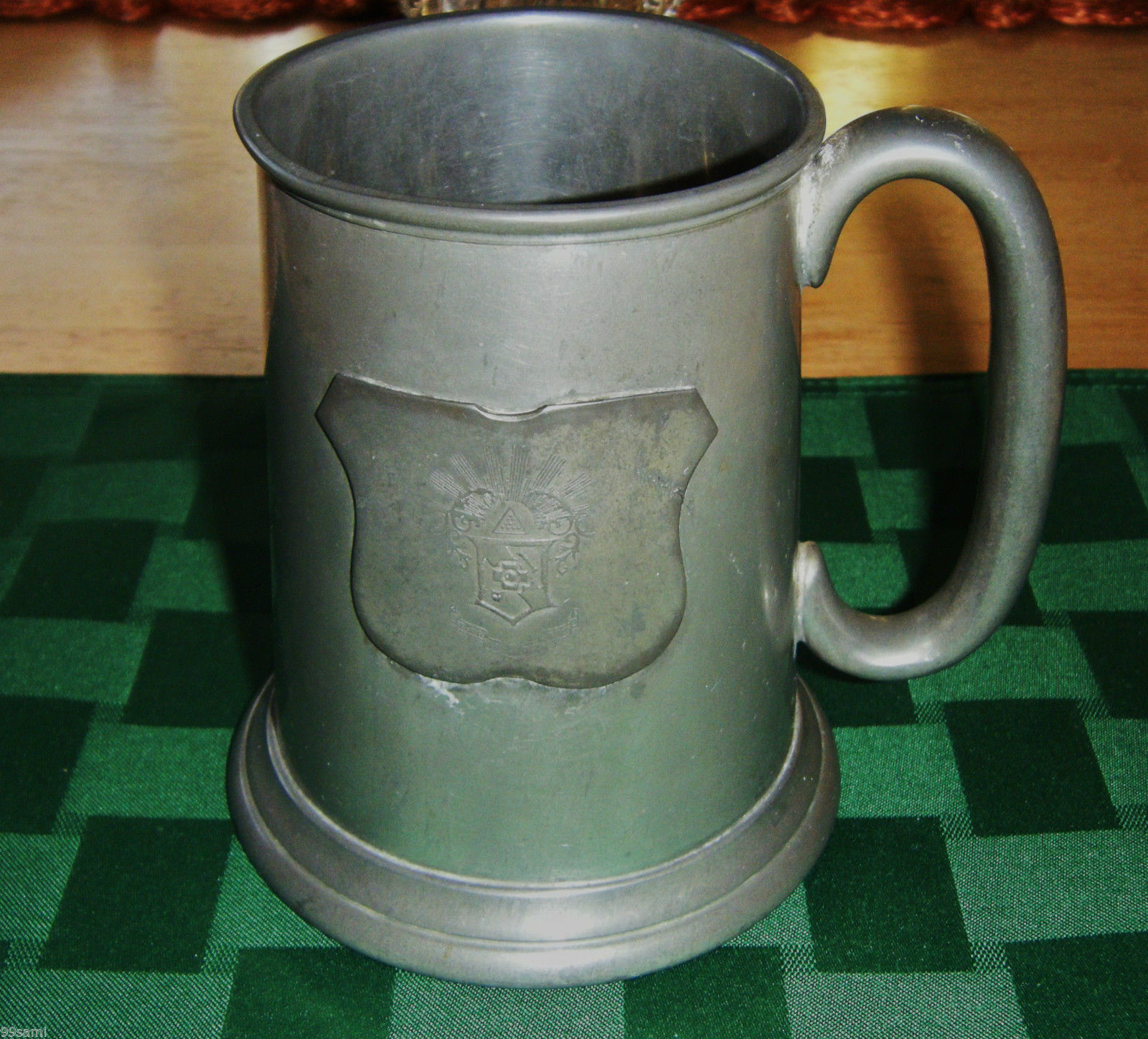Pewter Stein Mug Beer Ale Imported By Evans Int 39 L Sheffield England Other Home Garden