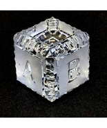 1 WATERFORD PAPERWEIGHT BABY Block Cut and Etched Lead Crystal - Signed - $27.07