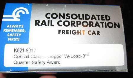 K-Line K621-9012 Conrail Classic Hopper Freight Car Train