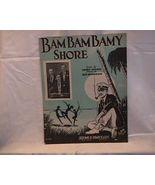 Bam Bam Bamy Shore Vintage Sheet Music - $7.00