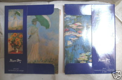 17 Monet Blank NoteCards and Envelopes