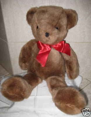 ADORABLE Vintage MEDIUM BROWN BEAR