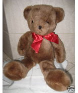 ADORABLE Vintage MEDIUM BROWN BEAR - $19.00