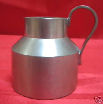 Modernist Reed& Barton PEWTER CREAMER / PITCHER
