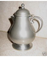 Handmade in USA Queens Art Pewter Creamer #332 - $19.99