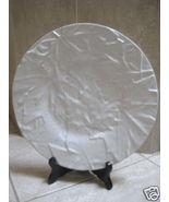 Vintage Bordallo Pinheiro Leaf Plate - White- 1970's - $49.00