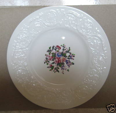 WEDGWOOD SWANSEA PATRICIAN- SALAD PLATE - MINT
