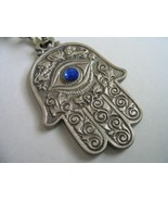 Hamsa grapes keychain for wealth blessing with evil eye protection kabbalah - £5.87 GBP