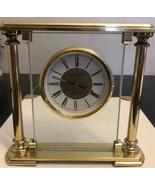 Solid brass Linden quartz alarm clocks--works great! - $19.80
