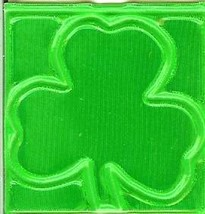 4 retroflective hard hat strip 1-1/2 x 1-1/2 nfpa approved safety green clover r - $9.99