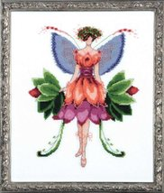 Azalea Pixie Blossom Colletion NC197 cross stitch chart Nora Corbett Des... - $10.80