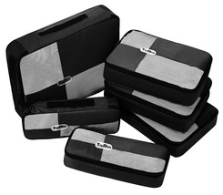 TripDock Various Packing Cubes 6 Set Lightweight Travel Luggage Organize... - $1.314,20 MXN