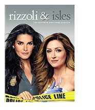 Rizzoli & Isles: The Complete Seventh and Final Season 7 DVD Brand New - $8.99