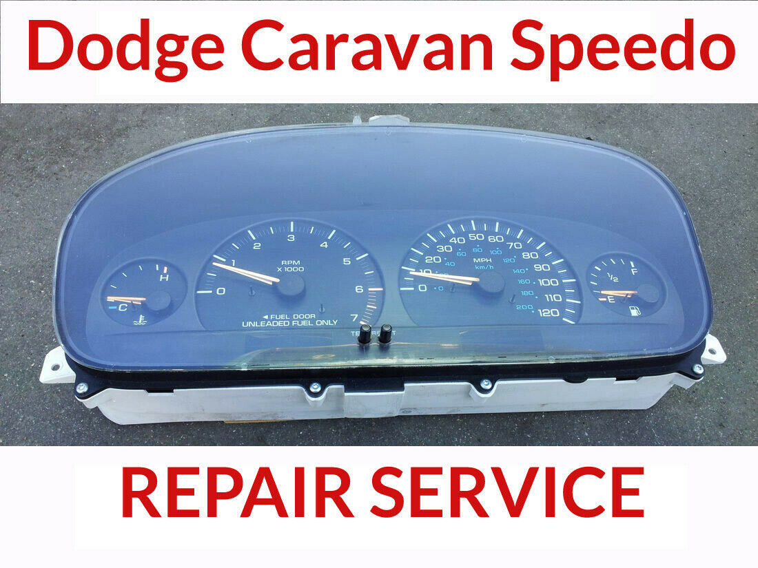 Primary image for REPAIR SERVICE 96-00 Dodge Caravan Voyager Town Cluster Instrument 2 Year Warran