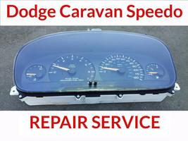 REPAIR SERVICE 96-00 Dodge Caravan Voyager Town Cluster Instrument 2 Yea... - $68.31