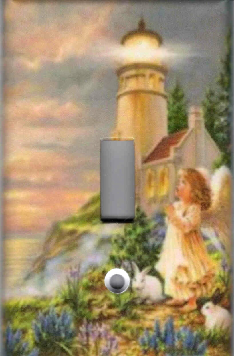 Angel with lighthouse  2