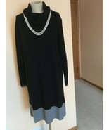 Women's Dress,L,Black,Cashmere,Long Sleeves ,Lafayette148,NWOT - $123.75