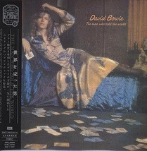 David Bowie The Man Who Sold The World Cd Japan Toshiba TOCP 70142 - $42.00