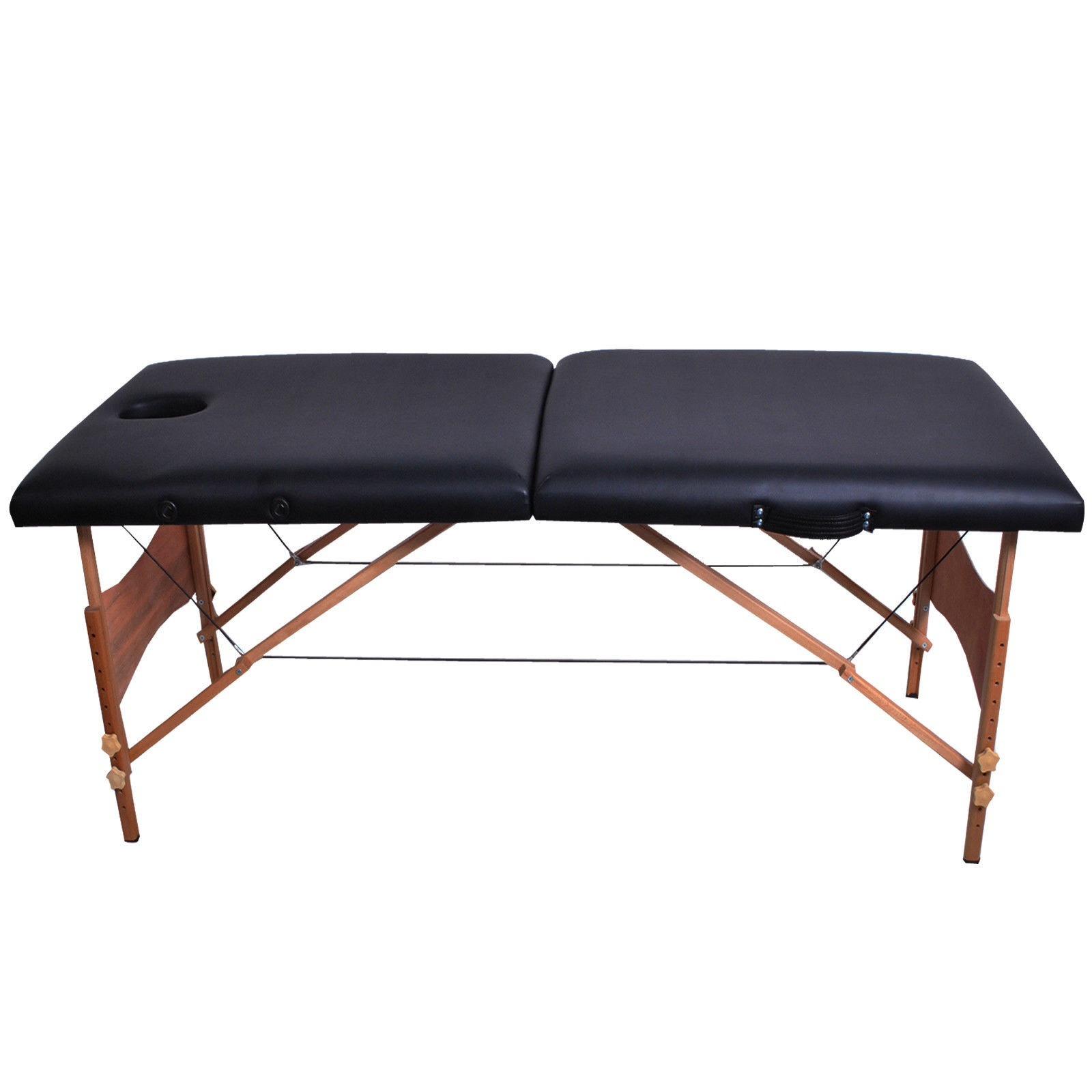 Saloniture Professional Portable Folding Massage Table ... |Massage Table
