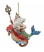 """December Diamonds Ornament - King Neptune with Seahorse 6"""" - $12.99"""
