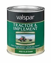 Valspar 4432-10 John Deere Green Tractor and Implement Paint - 1 Quart - $20.59