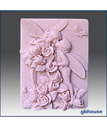 Silicone Soap Mold - Fairy Lovers - $28.00