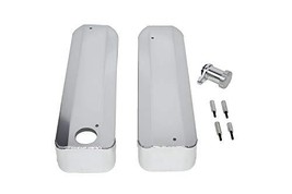 A-Team Performance Fabricated Chrome Valve Cover Coil Covers Compatible with LS