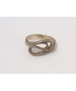 Vintage Sterling Silver Swirly Ring Size 5.5 - $14.00