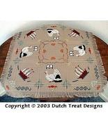 Pilgrim Tabletopper cross stitch chart Dutch Treat Designs - $7.00