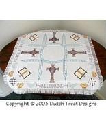 Resurrection Tabletopper cross stitch chart Dutch Treat Designs - $8.00