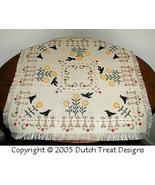 As The Crow Flies Tabletopper cross stitch chart Dutch Treat Designs - $7.00