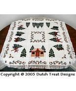 Bruce's Mooses Tabletopper cross stitch chart Dutch Treat Designs - $8.00