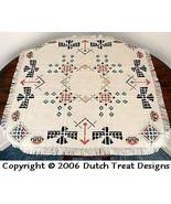 Southwest  Tabletopper cross stitch chart Dutch Treat Designs - $7.00