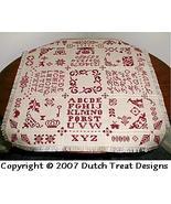 Bristol  Tabletopper cross stitch chart Dutch Treat Designs - $8.00