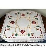 12 Ways of Christmas  Tabletopper cross stitch chart Dutch Treat Designs - $10.00