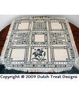 Lacework Lily Tabletopper cross stitch chart Dutch Treat Designs - $8.00